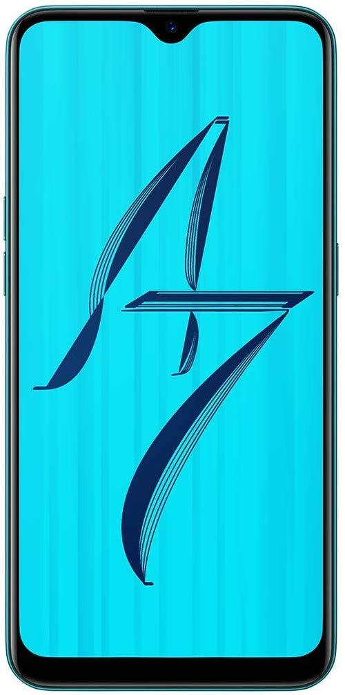 OPPO A7 (Glaze Blue, 3GB RAM, 64GB Storage)