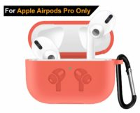 Vatsas Protection Silicone Cover Case for Apple Airpods Pro – Compatible with Apple Wireless Bluetooth Earphones Air Pods Pro Silicon Case