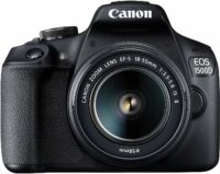 Canon EOS 1500D 24.1 Digital SLR Camera (Black) with EF S18-55 is II Lens, 16GB Card 2020