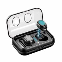Xmate Gusto in-Ear Touch Control True Wireless Bluetooth Headphones (TWS) with Mic – (Black)