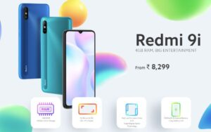 Redmi 9i Sale Today in India on Flipkart and Mi.com