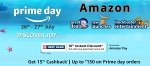Read more about the article Amazon Prime Day Sale 2021: Everything about Discounts, Offers and sale Date